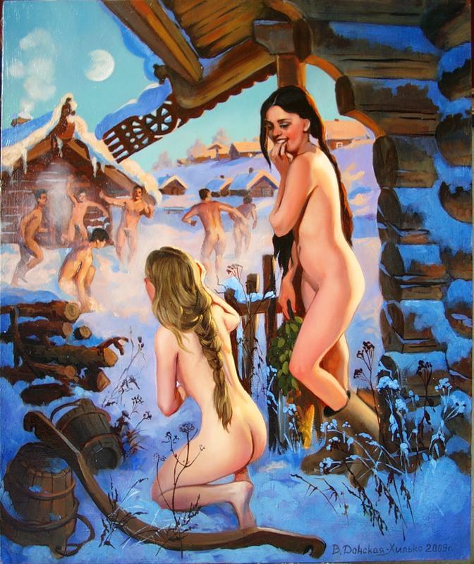 Эротика россии в бани 1 фотография